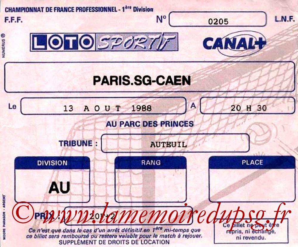 1988-08-13  PSG-Caen (6ème D1)