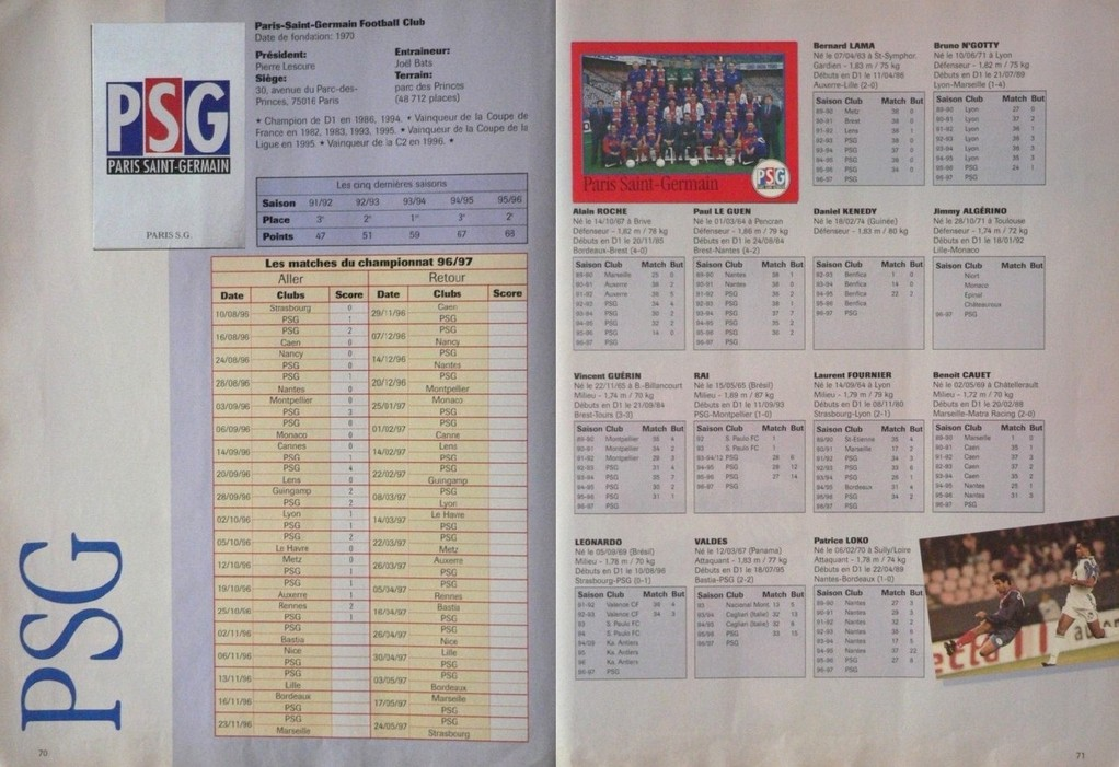 Pages 70 et 71
