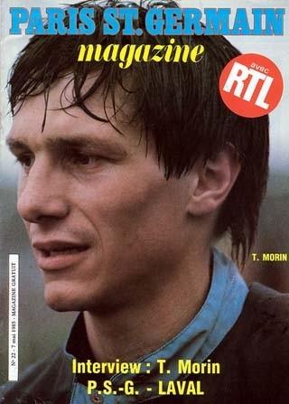 1985-05-07  PSG-Laval (35ème D1, Paris SG Magazine N°22)