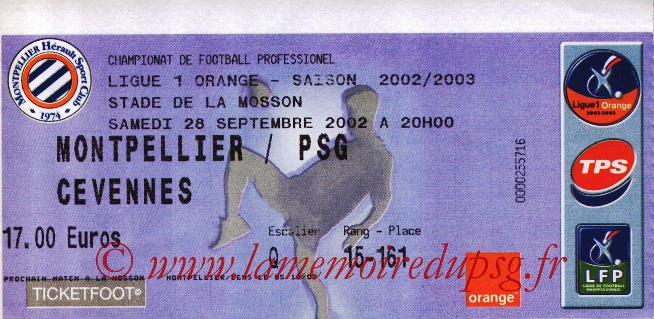 2002-09-28  Montpellier-PSG (9ème L1)