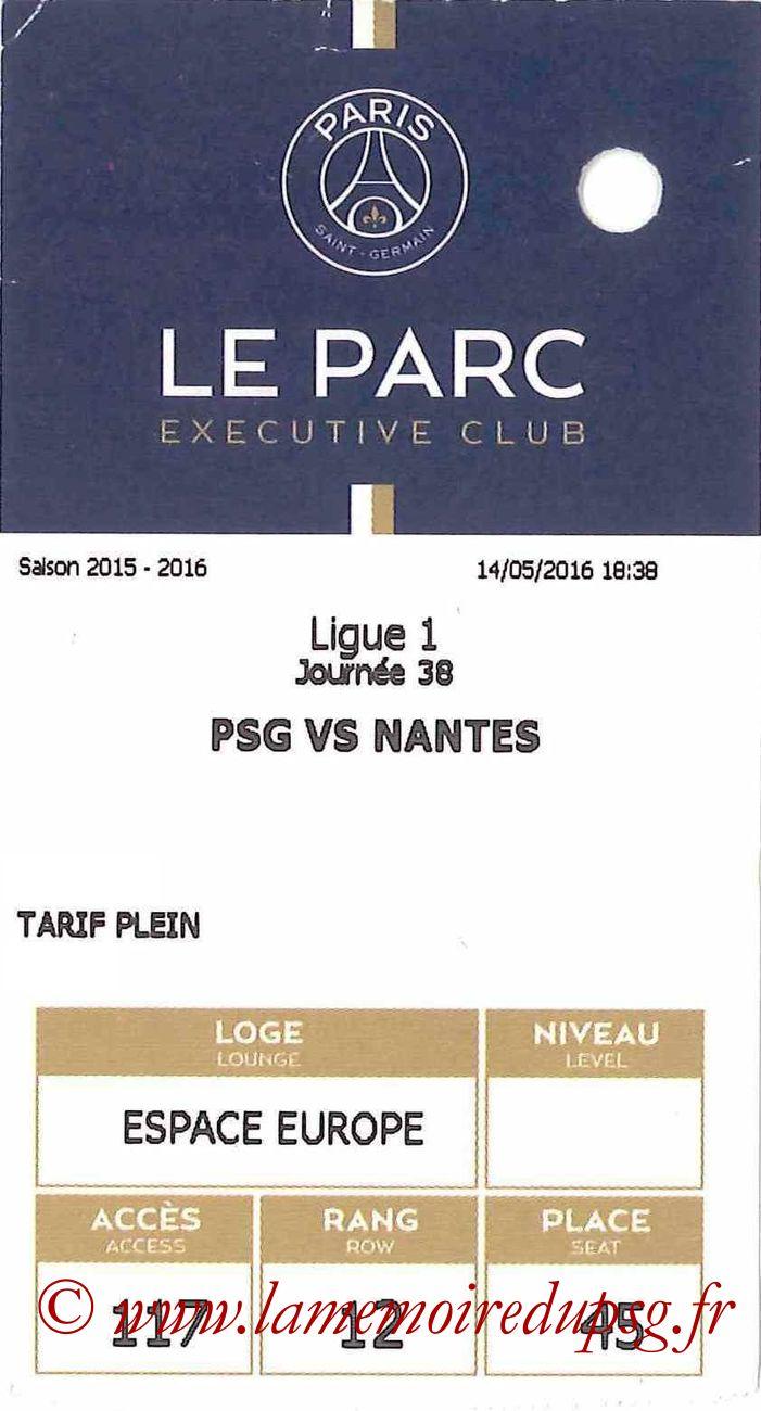 2016-05-14  PSG-Nantes (38ème L1, E-ticket Executive club)
