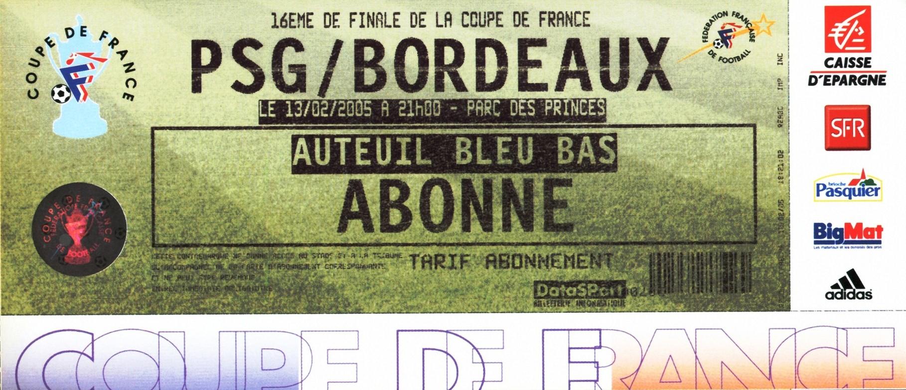 2005-02-13  PSG-Bordeaux (16ème Finale CF)