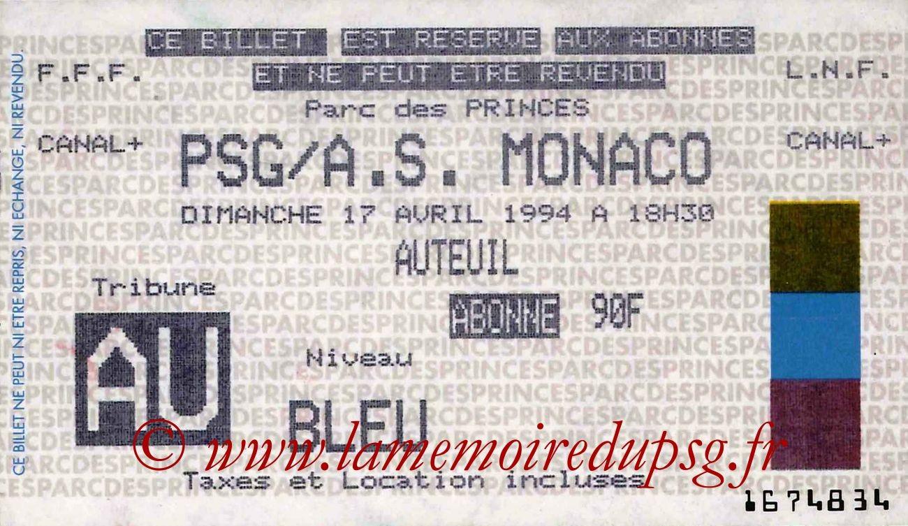 1994-04-17  PSG-Monaco (34ème D1)