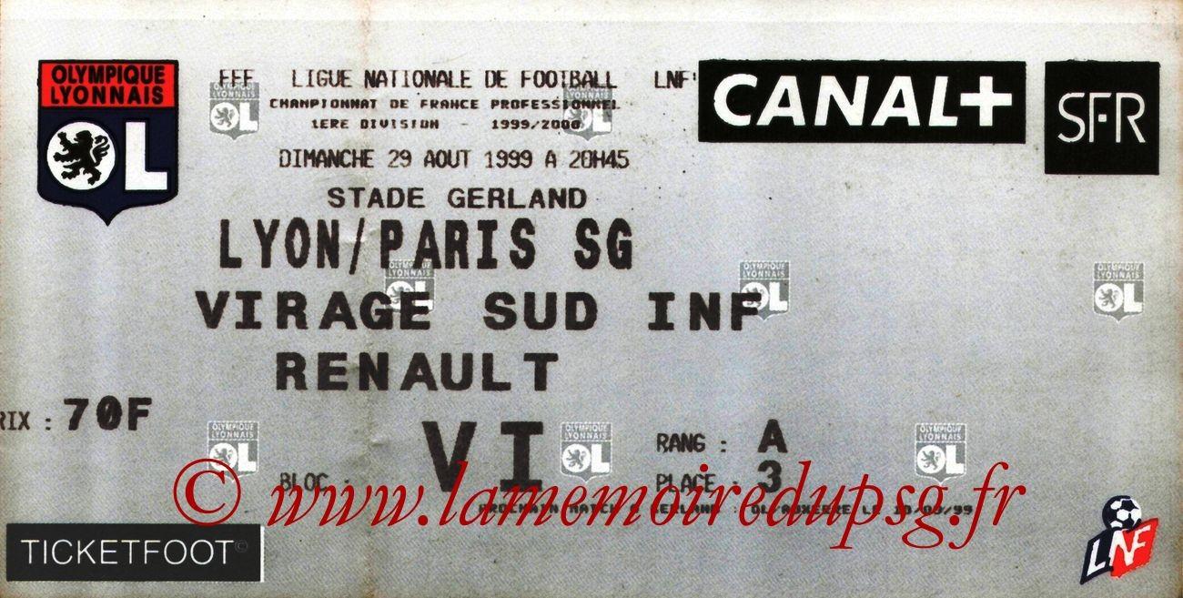1999-08-29  Lyon-PSG (5ème D1)