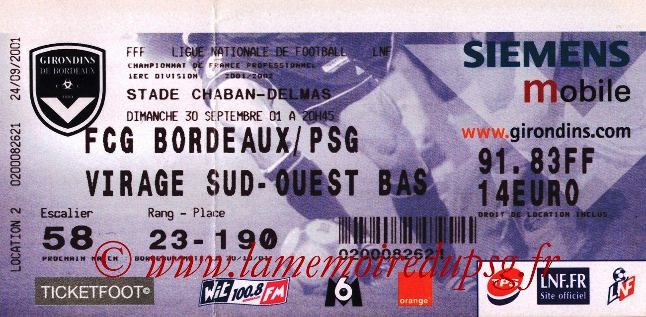 2001-09-30  Bordeaux-PSG (9ème D1, bis)