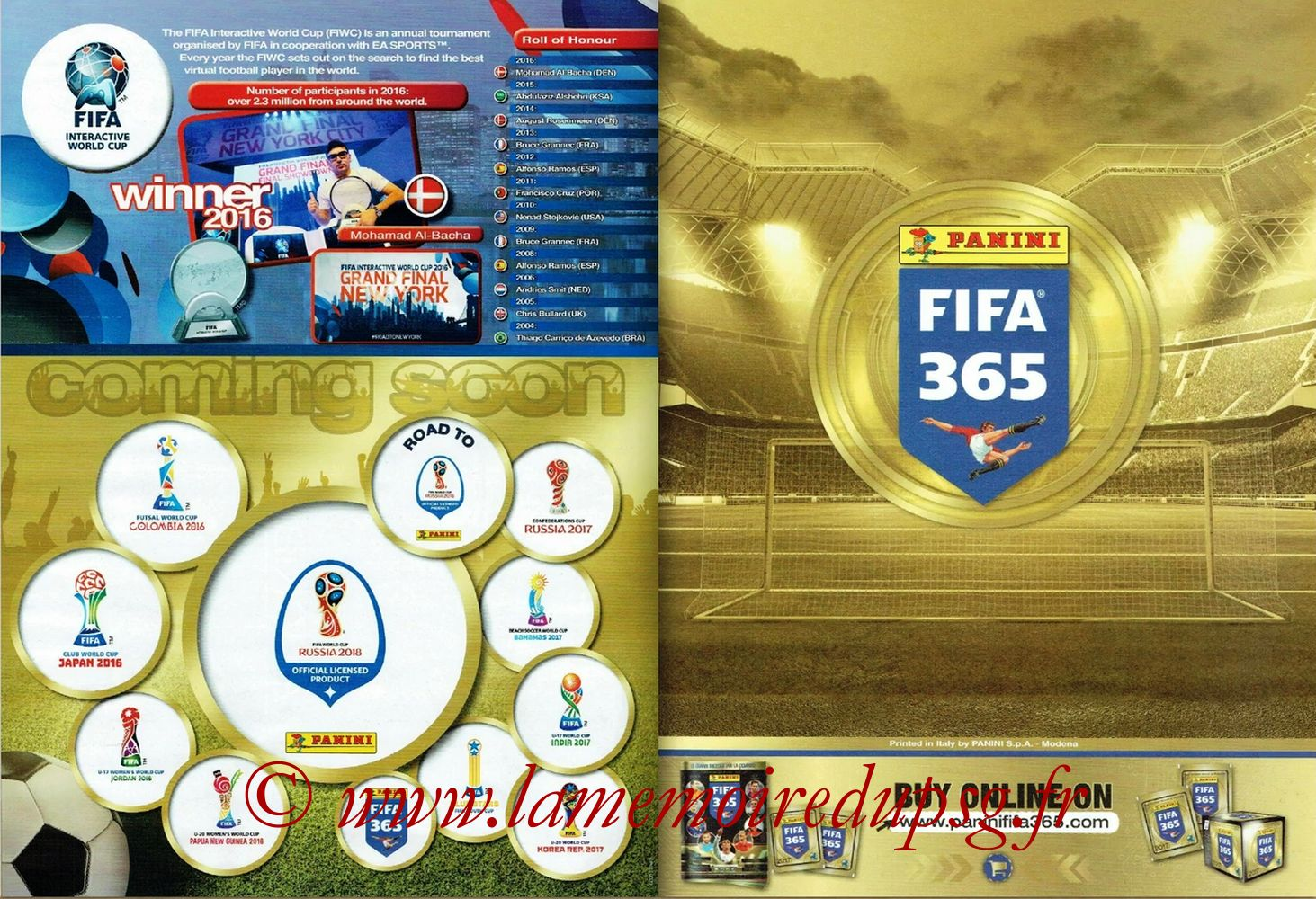 2016-17 - Panini FIFA 365 Stickers - Pages 64 et 65