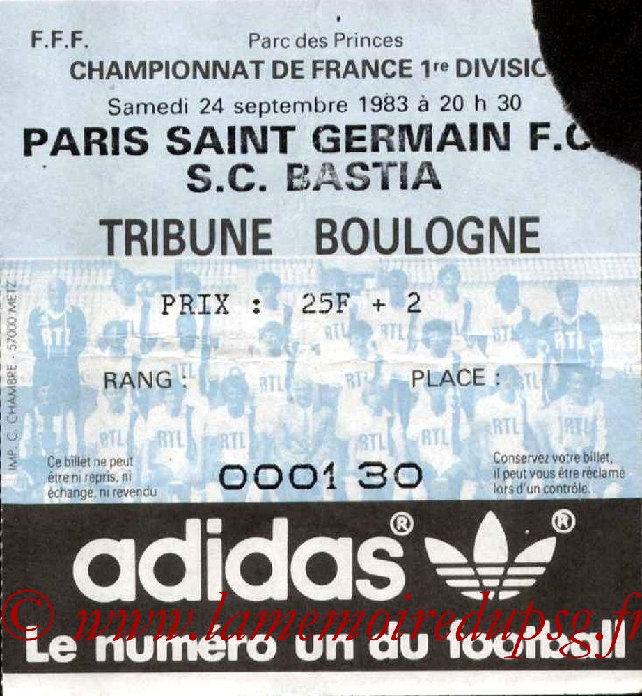 1983-09-24  PSG-Bastia (11ème D1)