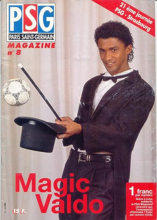 1993-12-11  PSG-Strasbourg (21ème D1, PSG Magazine N°8)