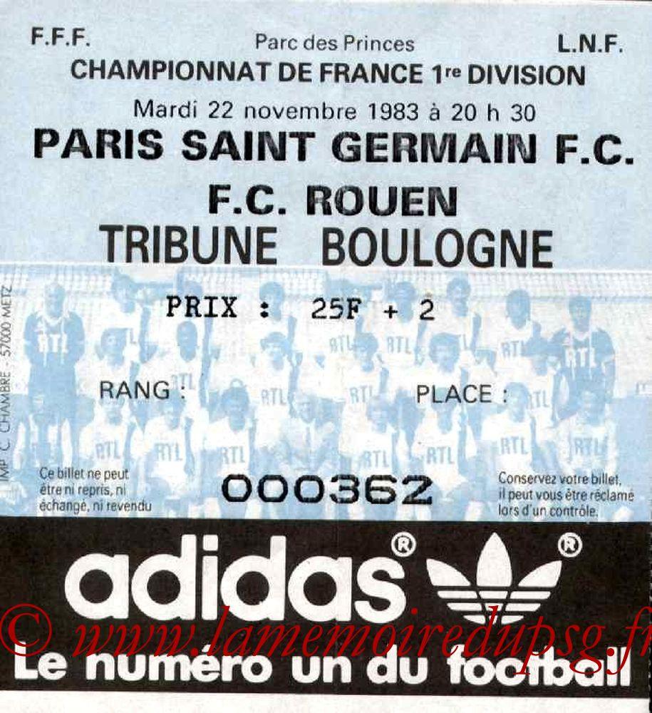 1983-11-22  PSG-Rouen (19ème D1)