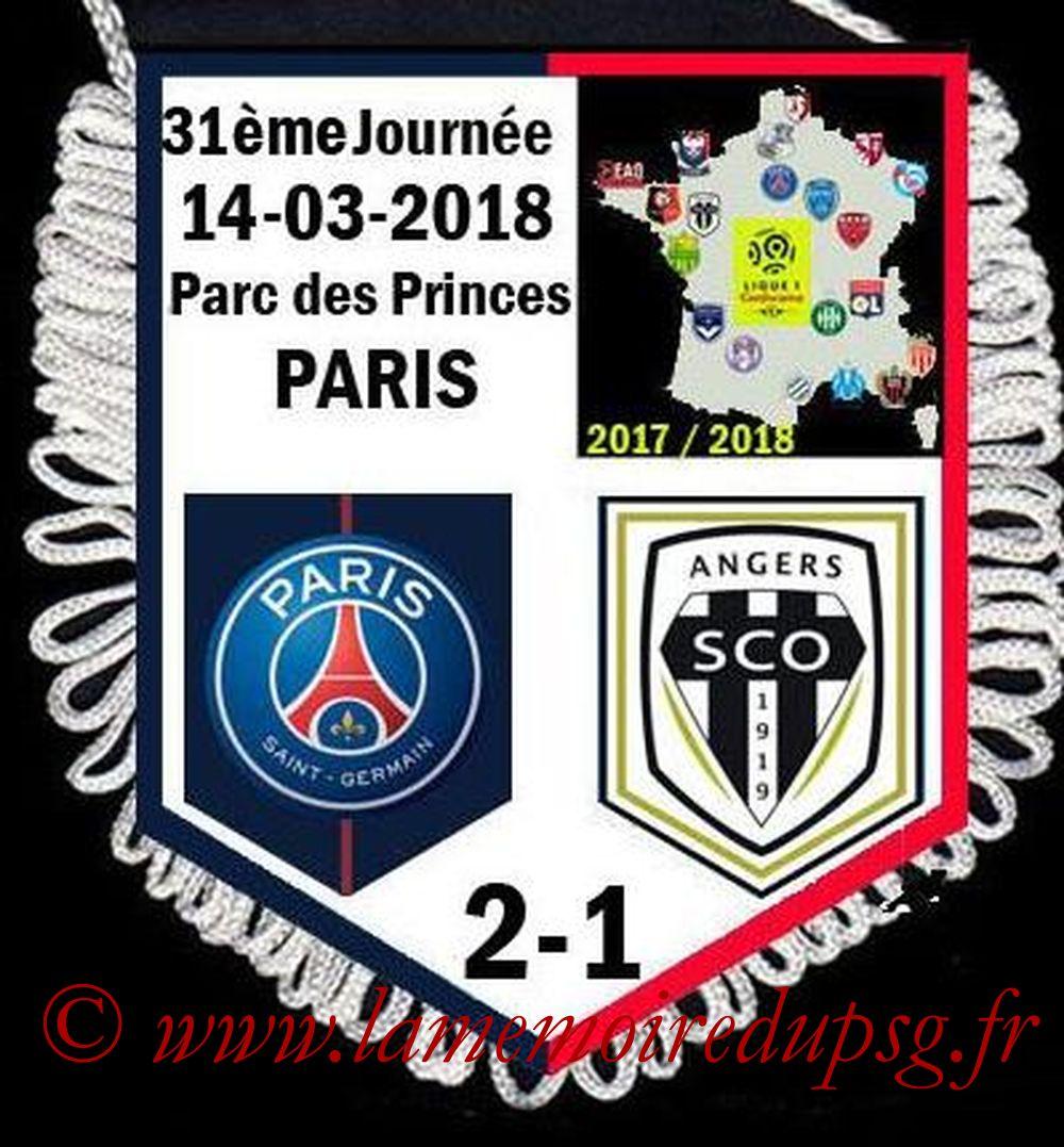 2018-03-14  PSG-Angers (31ème L1, match avancé)