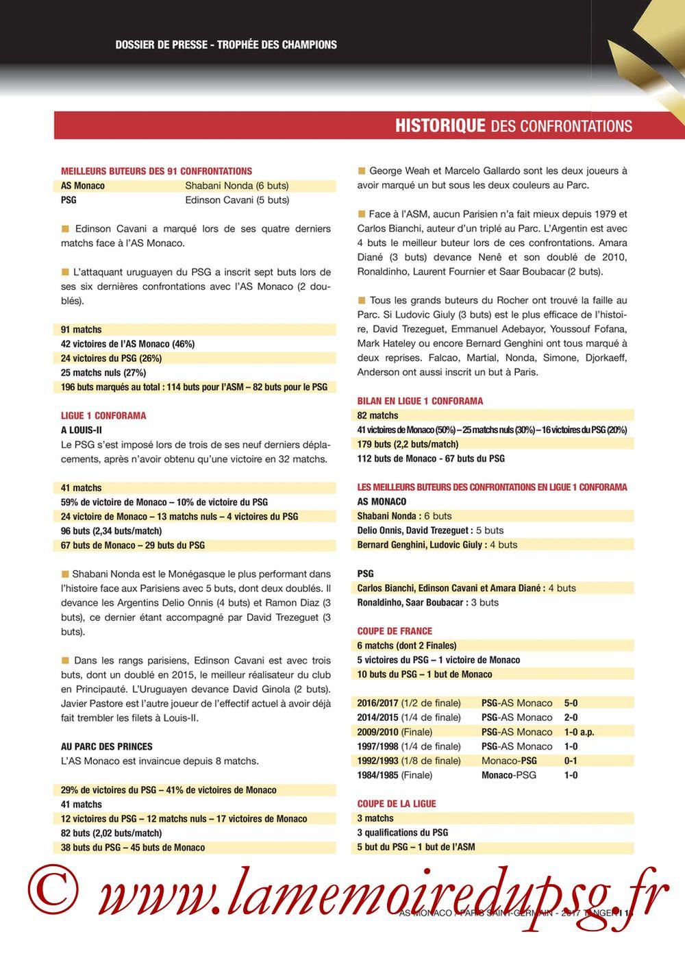 2017-07-29  Monaco-PSG (Trophée des Champions à Tanger, Dossier de Presse) - Page 13