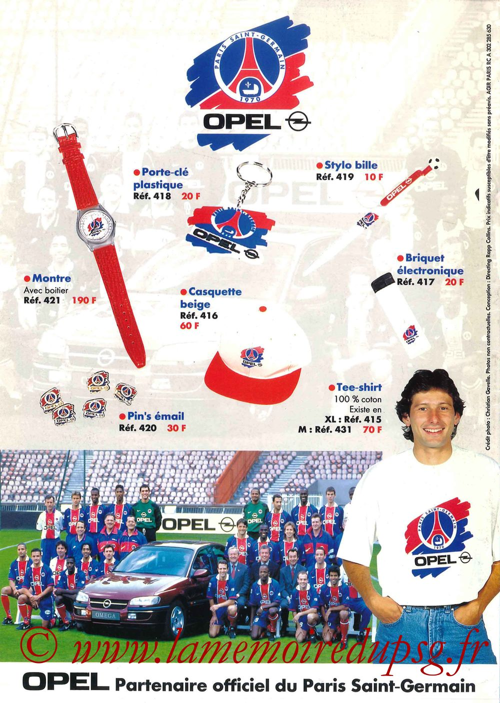 Catalogue PSG - 1996-97 - Pages 20