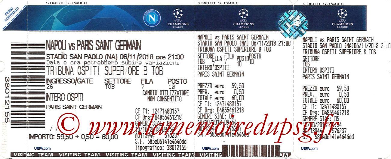 2018-11-06  Naples-PSG (4ème C1)