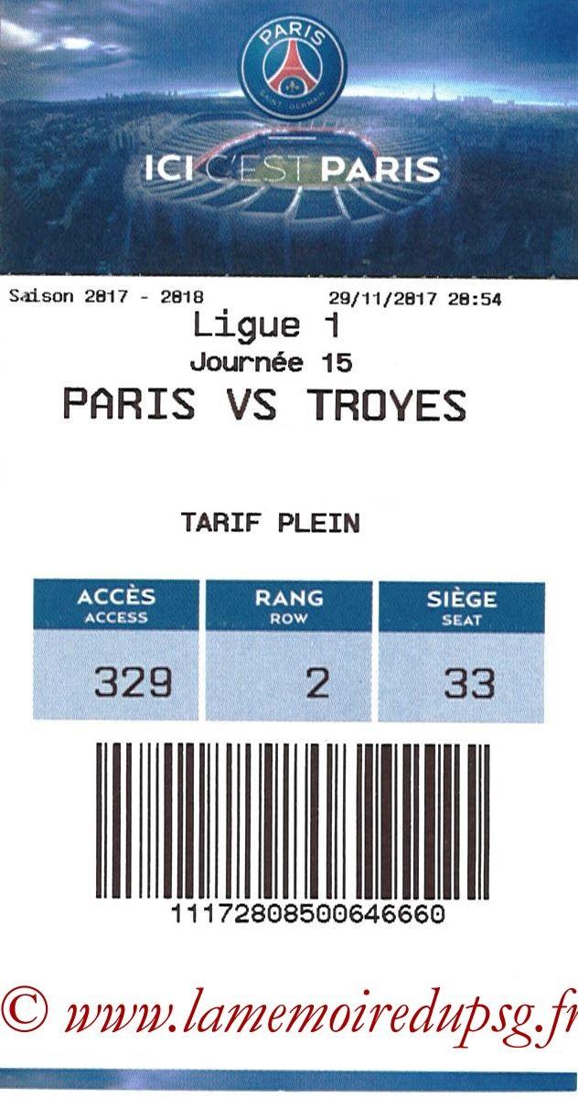 2017-11-29  PSG-Troyes (15ème L1, E-ticket)