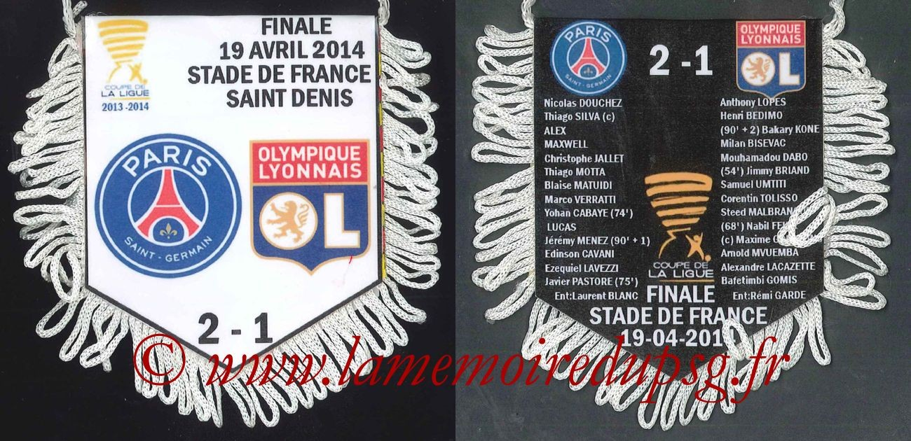 2014-04-19  PSG-Lyon (Finale CL)