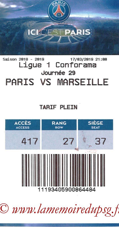 2019-03-17  PSG-Marseille (29ème L1, E-ticket)