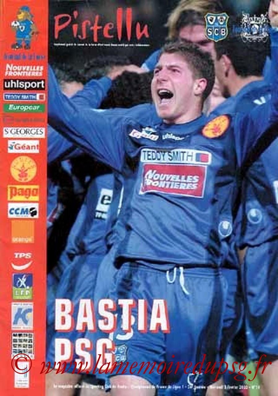 2003-02-05  Bastia-PSG (26ème L1, Pistellu)