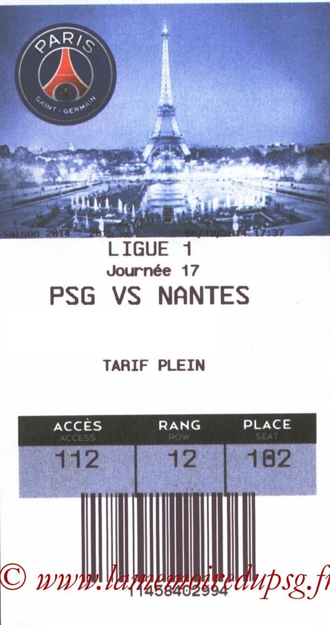 2014-12-06  PSG-Nantes (17ème L1, E-ticket)
