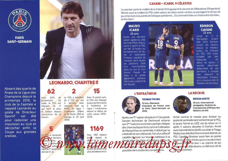 2019-12-07  Montpellier-PSG (17ème L1, L'Echo de la Mosson N°9) - Pages 14 et 15