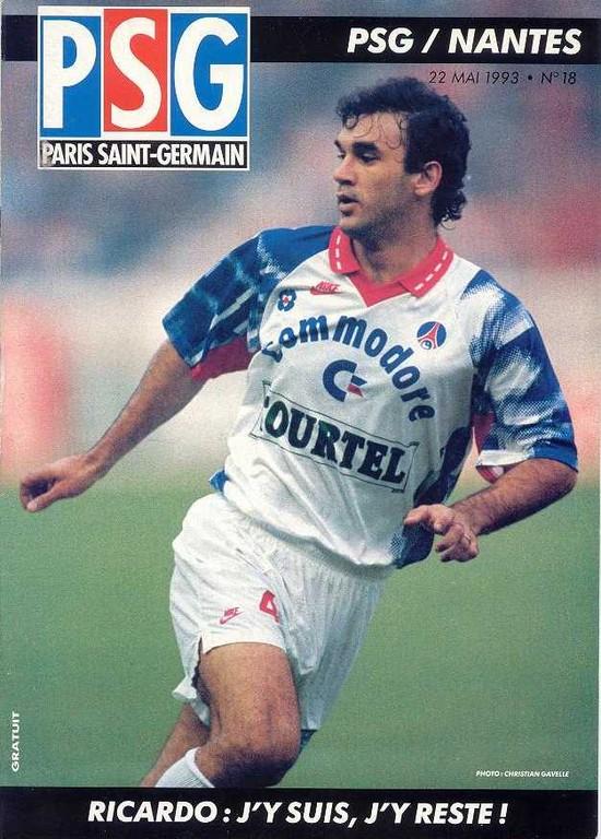 1993-05-22  PSG-Nantes (36ème D1, Le Magazine PSG N°18)