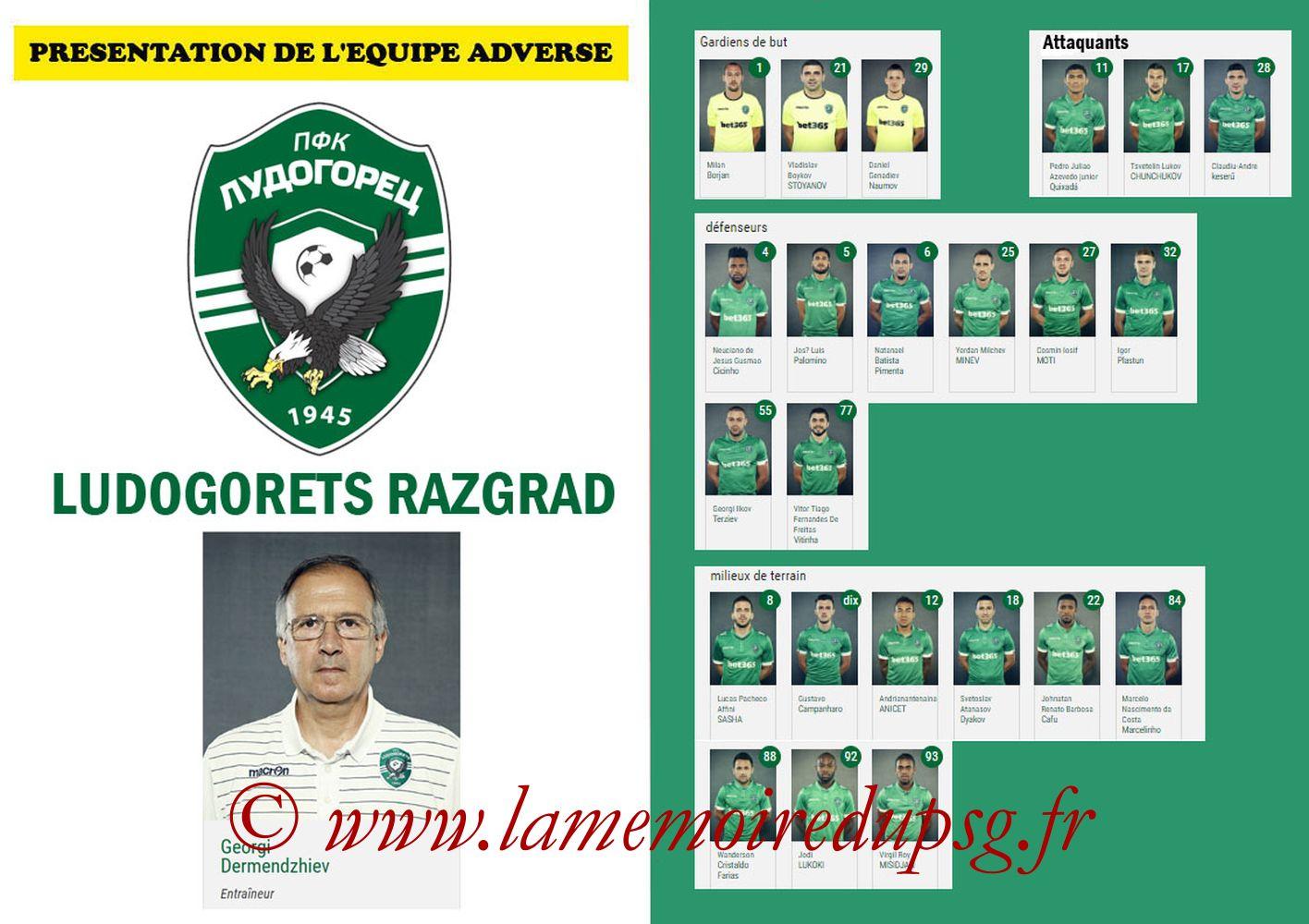 2016-12-07  PSG-Ludogorets (6ème Poule C1, Programme pirate 2) - Pages 02 et 03