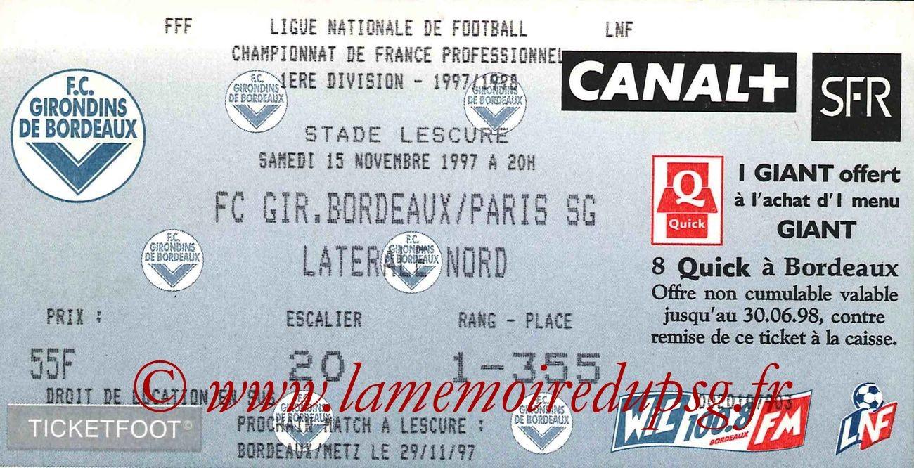 1997-11-15  Bordeaux-PSG (16ème D1)