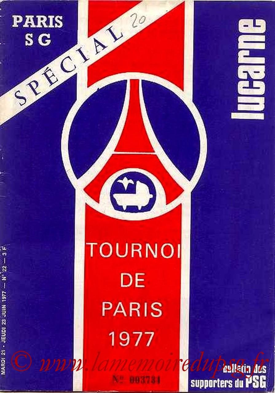 1977-06-21 et 23 (Tournoi de Paris, Lucarne N°22)