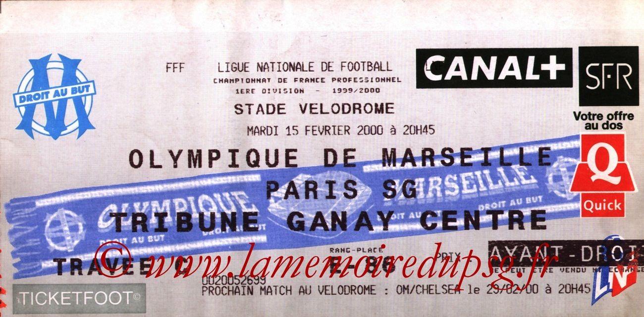 2000-02-15  Marseille-PSG (26ème D1)