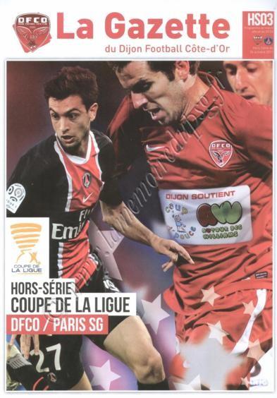 2011-10-26  Dijon-PSG (8ème Finale CL, La gazette du DFCO N°HS03)