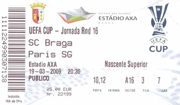 2009-03-19  SC Braga-PSG (8ème Finale Retour C3)