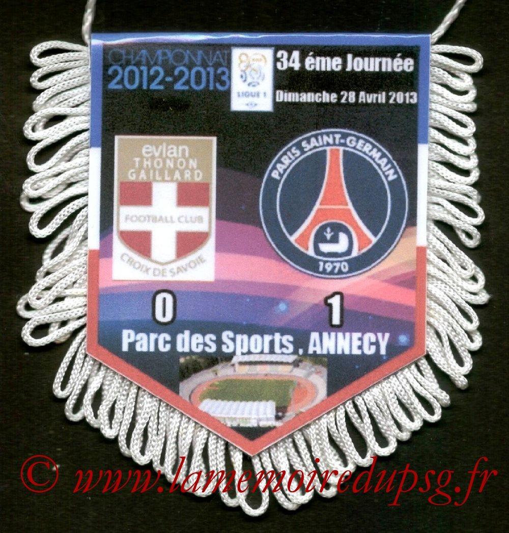 2013-04-28  Evian TG-PSG (34ème L1)