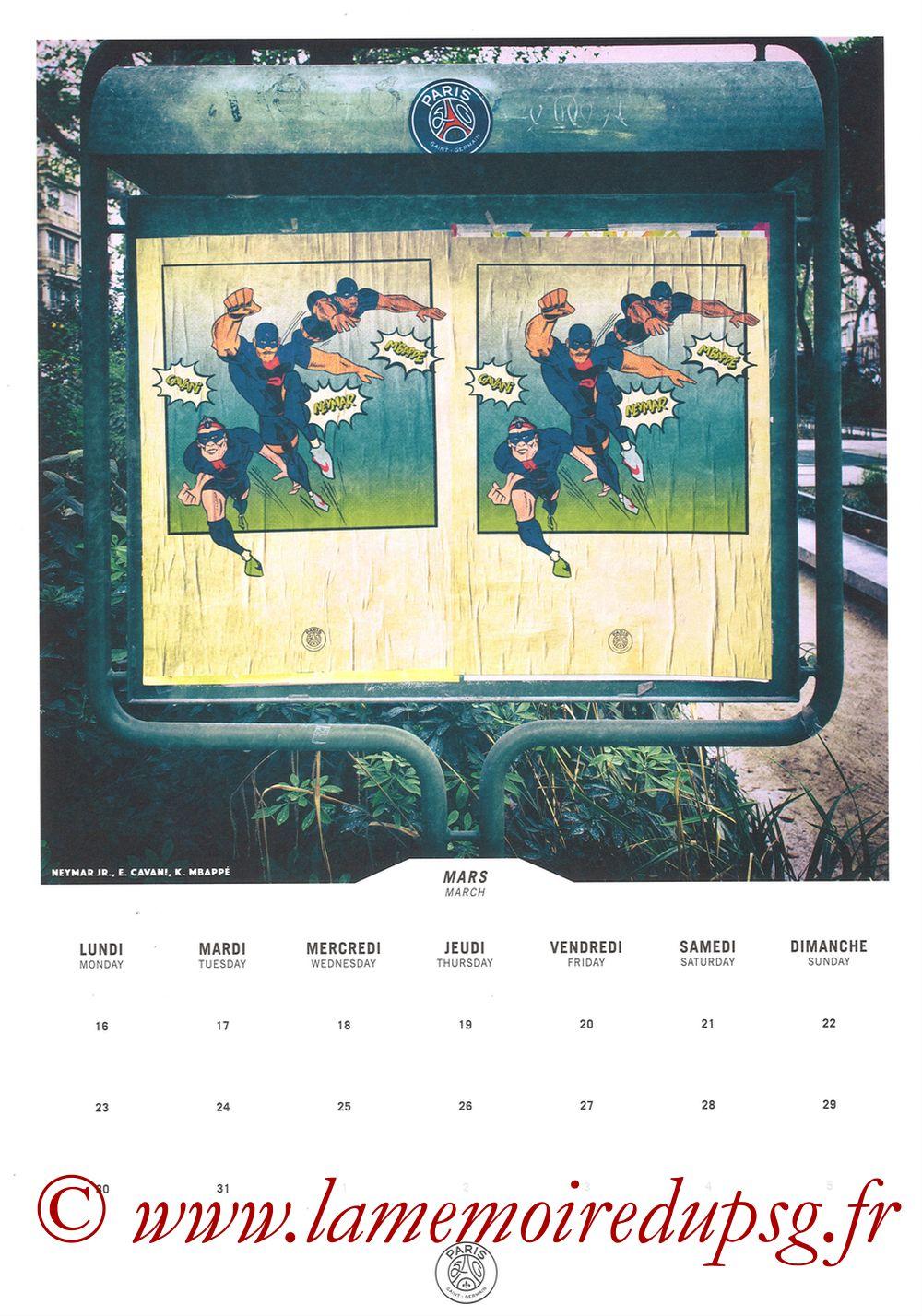 Calendrier PSG 2020 - Page 06 - NEYMAR JR+ CAVANI + MBAPPE