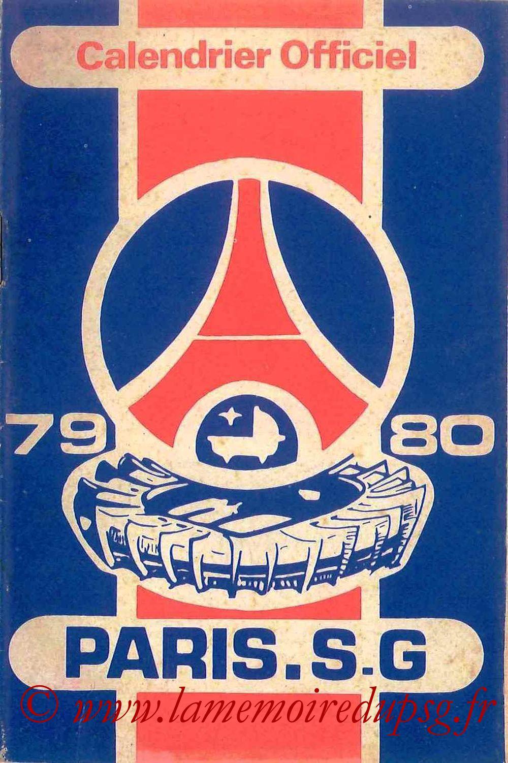 1979-80 - Guide de la Saison PSG - Couverture