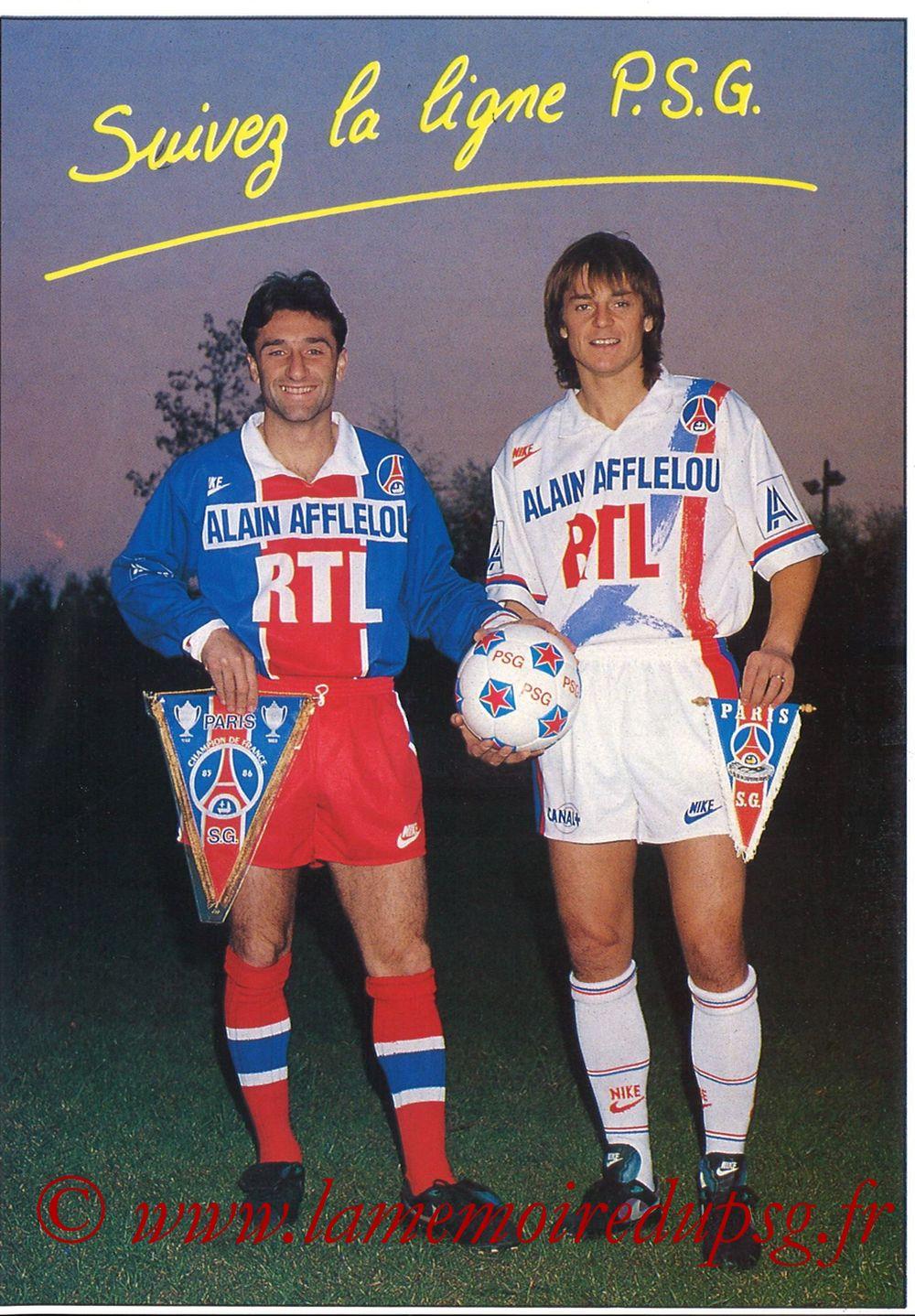 Catalogue PSG - 1990-91
