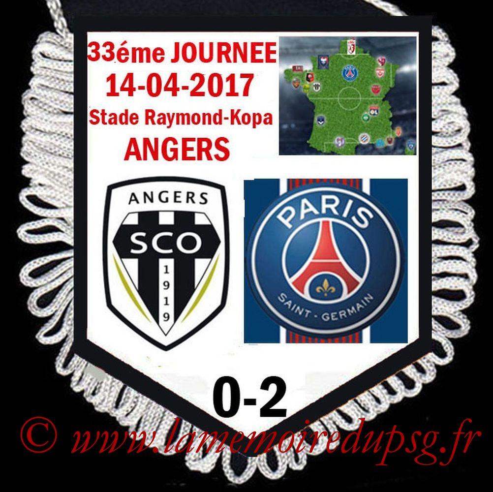 2017-04-14  Angers-PSG (33ème L1)