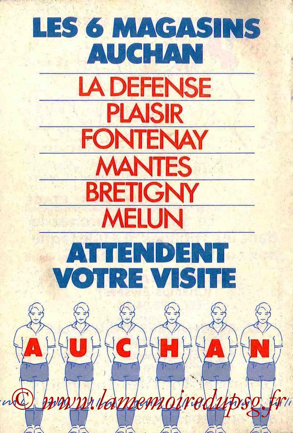 1983-84 - Guide de la Saison PSG - Page 28