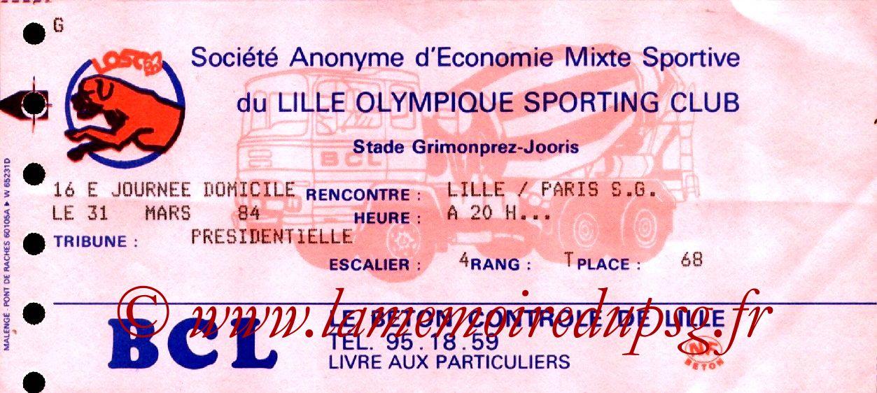1984-03-31  Lille-PSG (33ème D1)