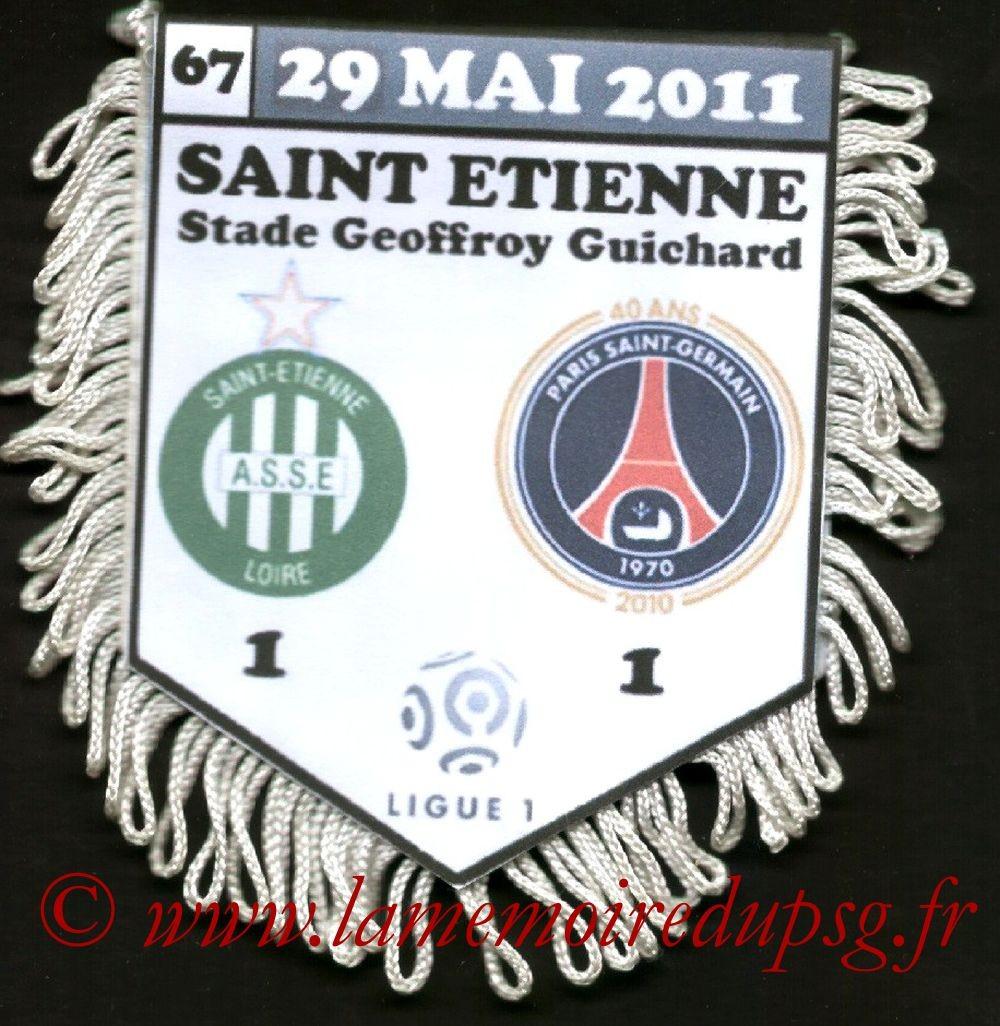 2011-05-29  Saint Etienne-PSG (38ème L1)