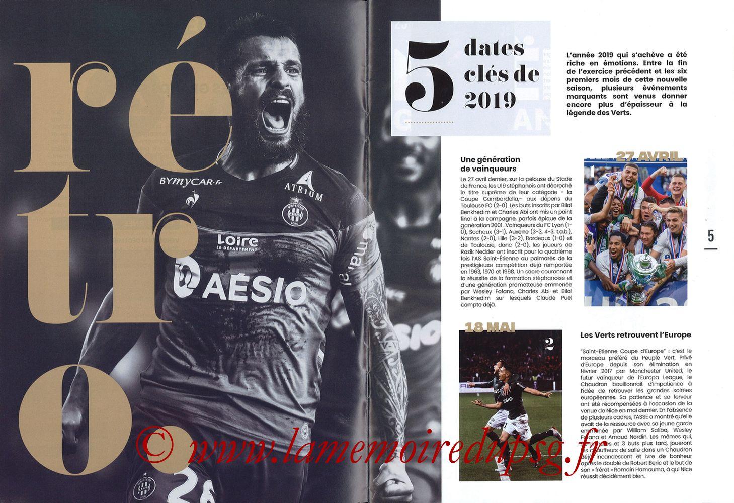 2019-12-15  Saint-Etienne (18ème L1, Maillot Vert N°31) - Pages 04 et 05