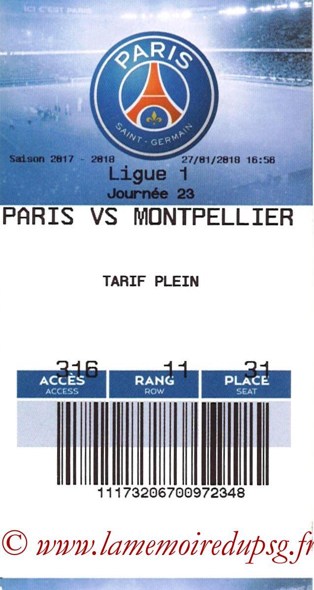 2018-01-27  PSG-Montpellier (23ème L1, E-ticket 2)