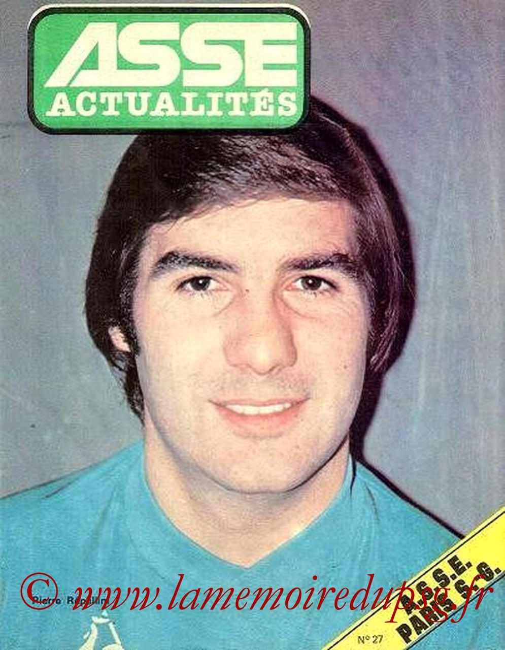 1979-02-04  Saint Etienne-PSG (26ème D1, ASSE Actualités N°27)
