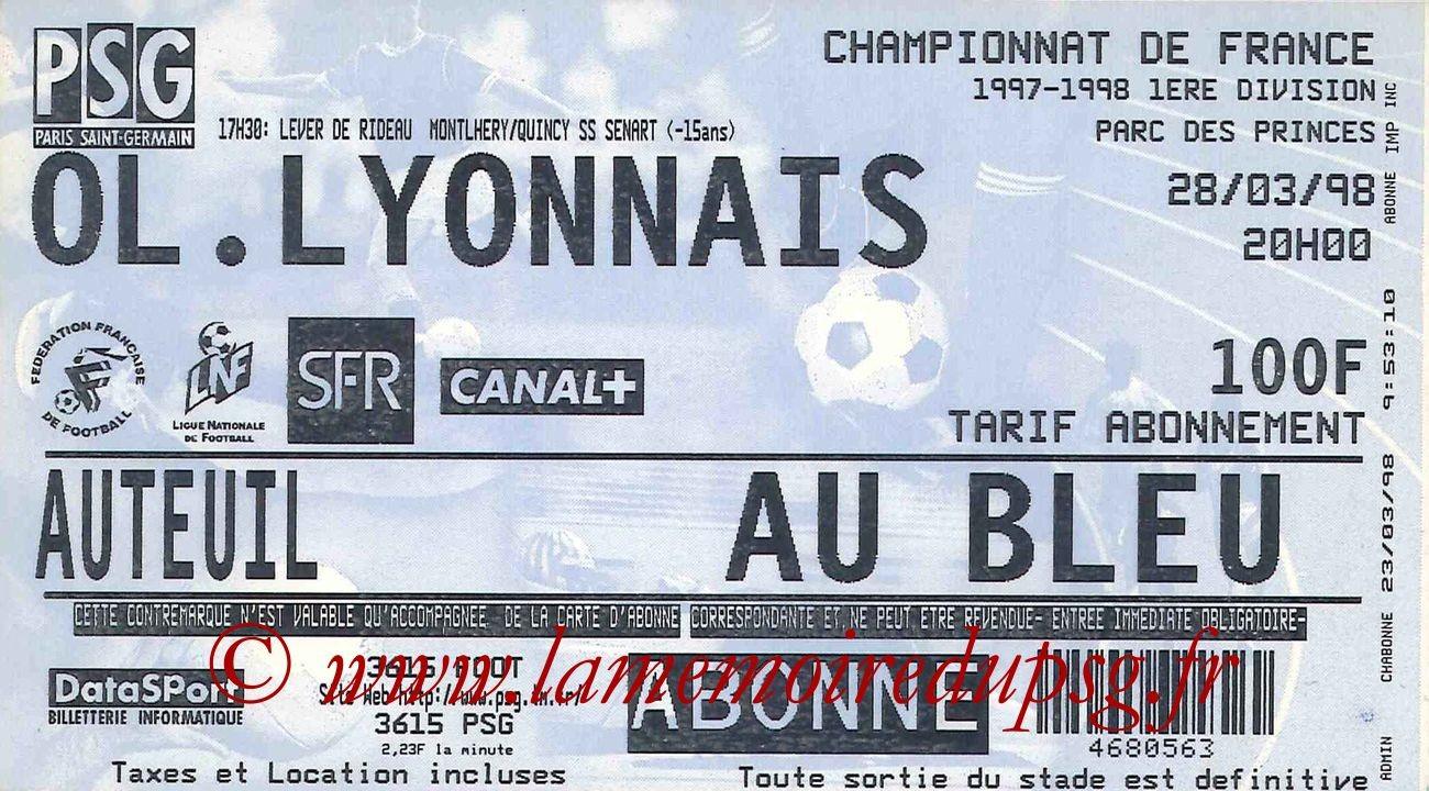 1998-03-28  PSG-Lyon (30ème D1)
