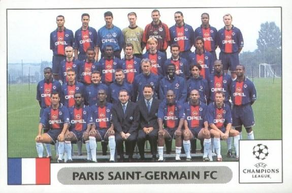 N° 229 - Equipe PSG