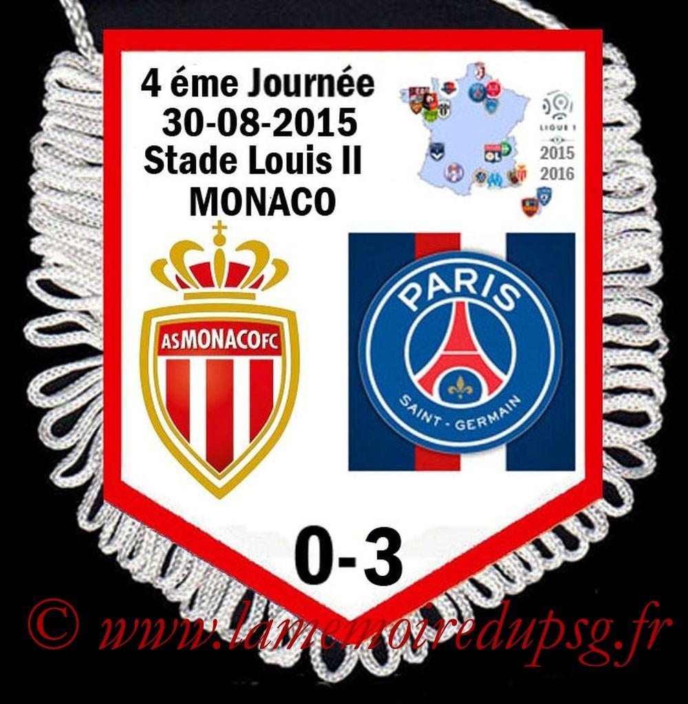 2015-08-30  Monaco-PSG (4ème L1)