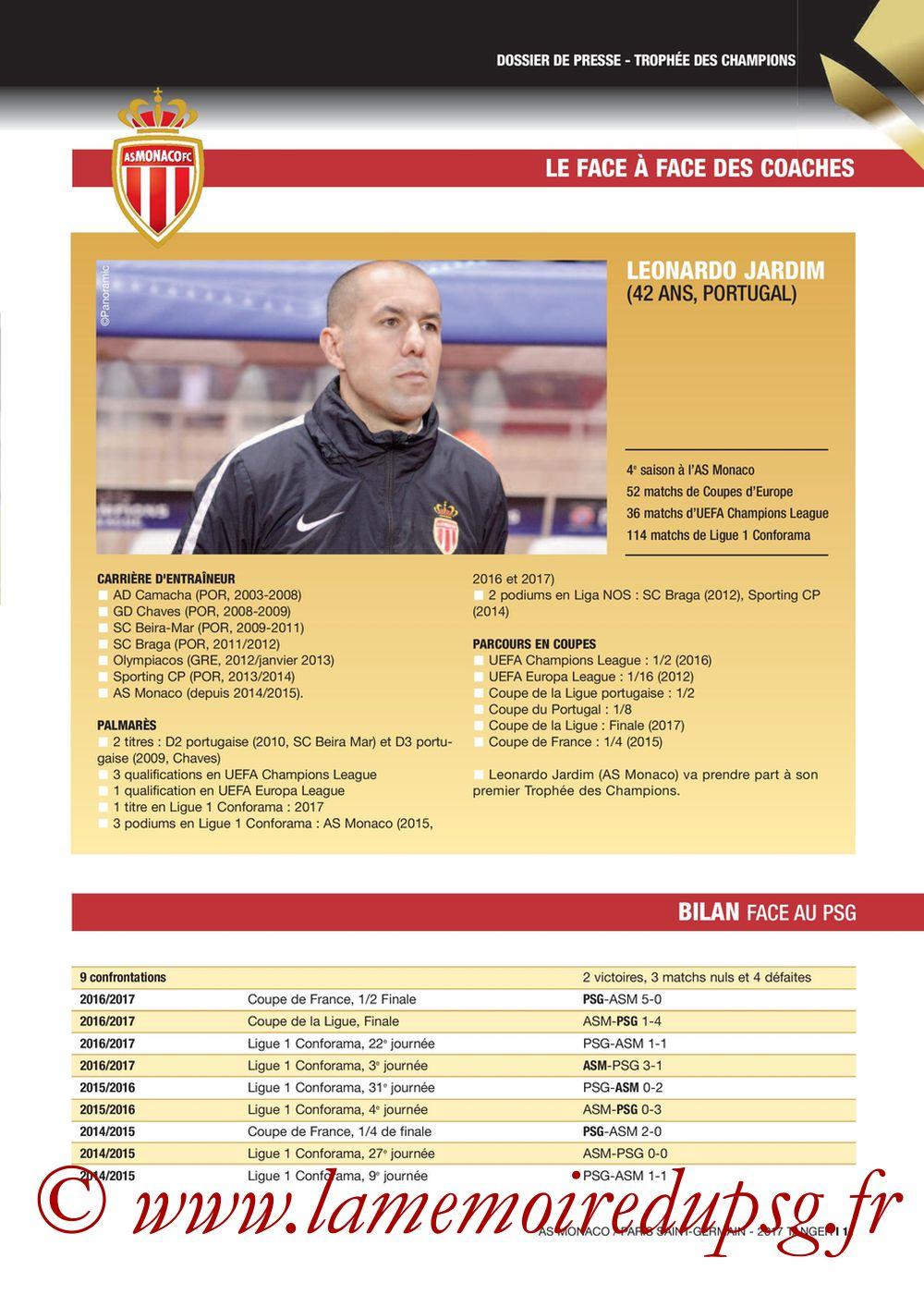 2017-07-29  Monaco-PSG (Trophée des Champions à Tanger, Dossier de Presse) - Page 11