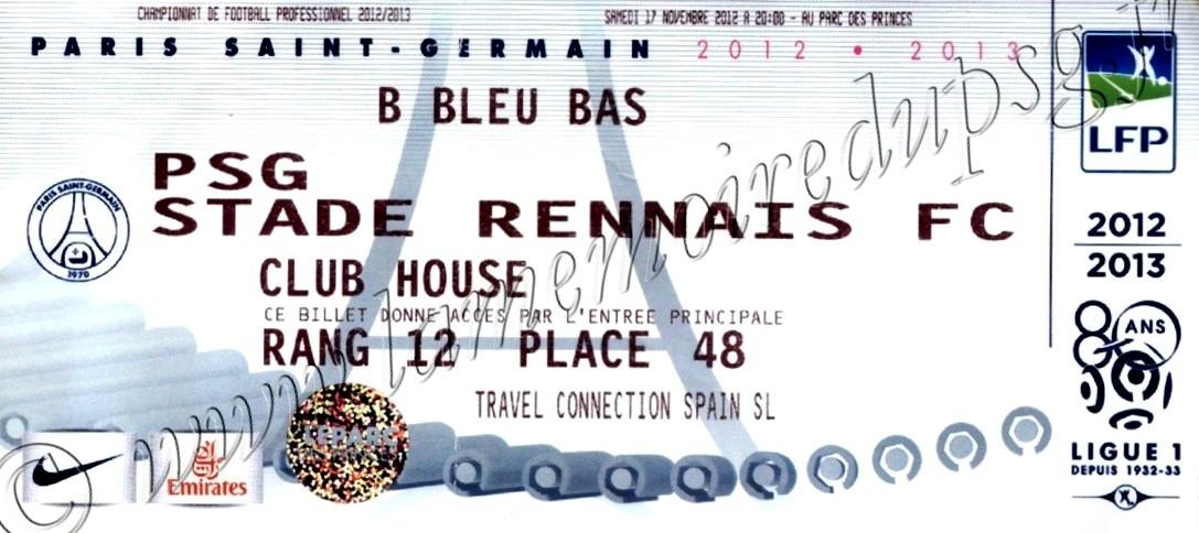 2012-11-17  PSG-Rennes (13ème L1)bis