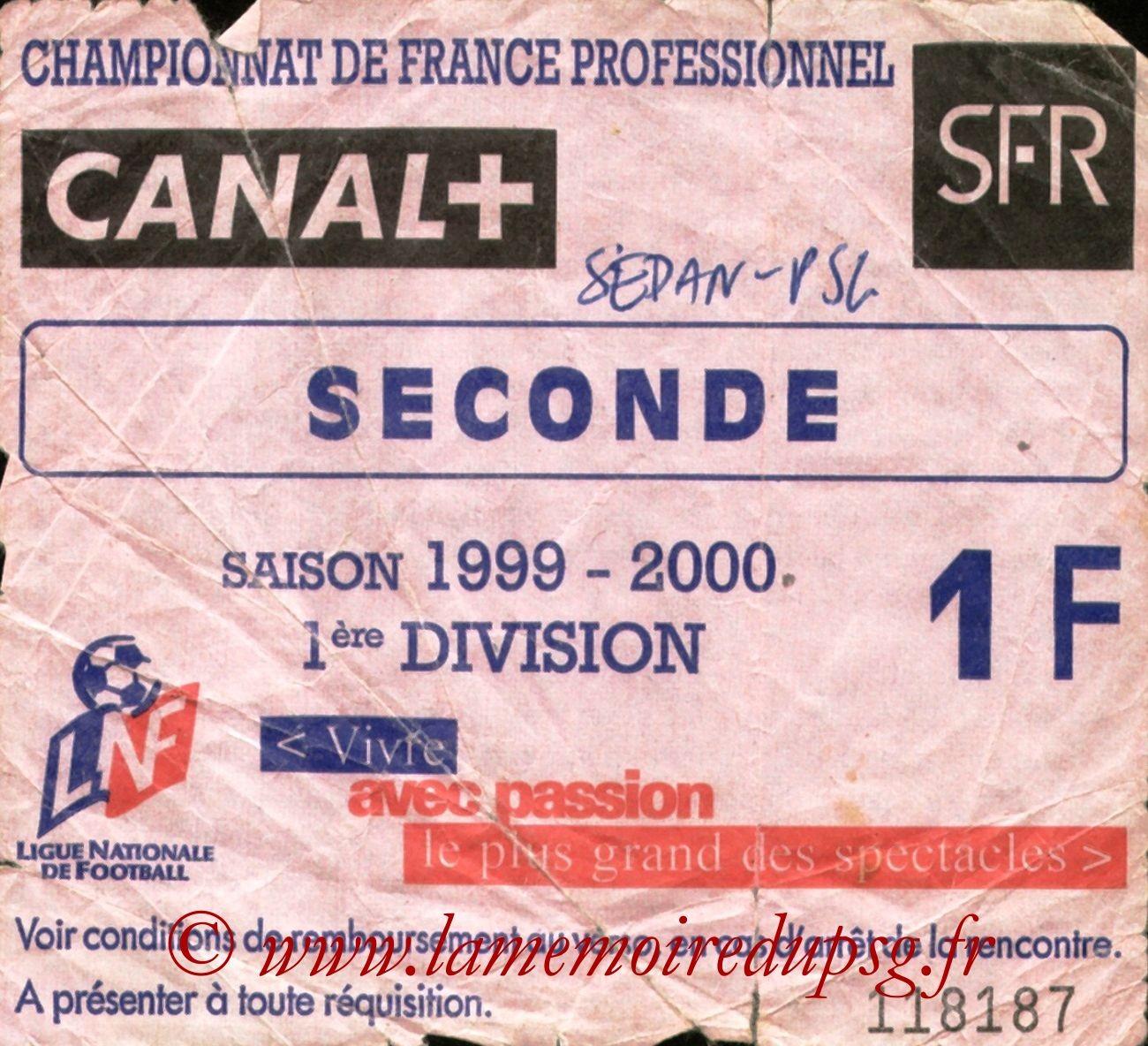 2000-03-11  Sedan-PSG (28ème D1, Sans nom)