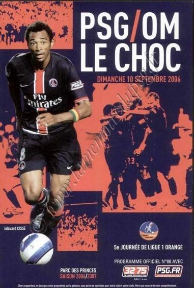 2006-09-10  PSG-Marseille (5ème L1, Officiel N°88)