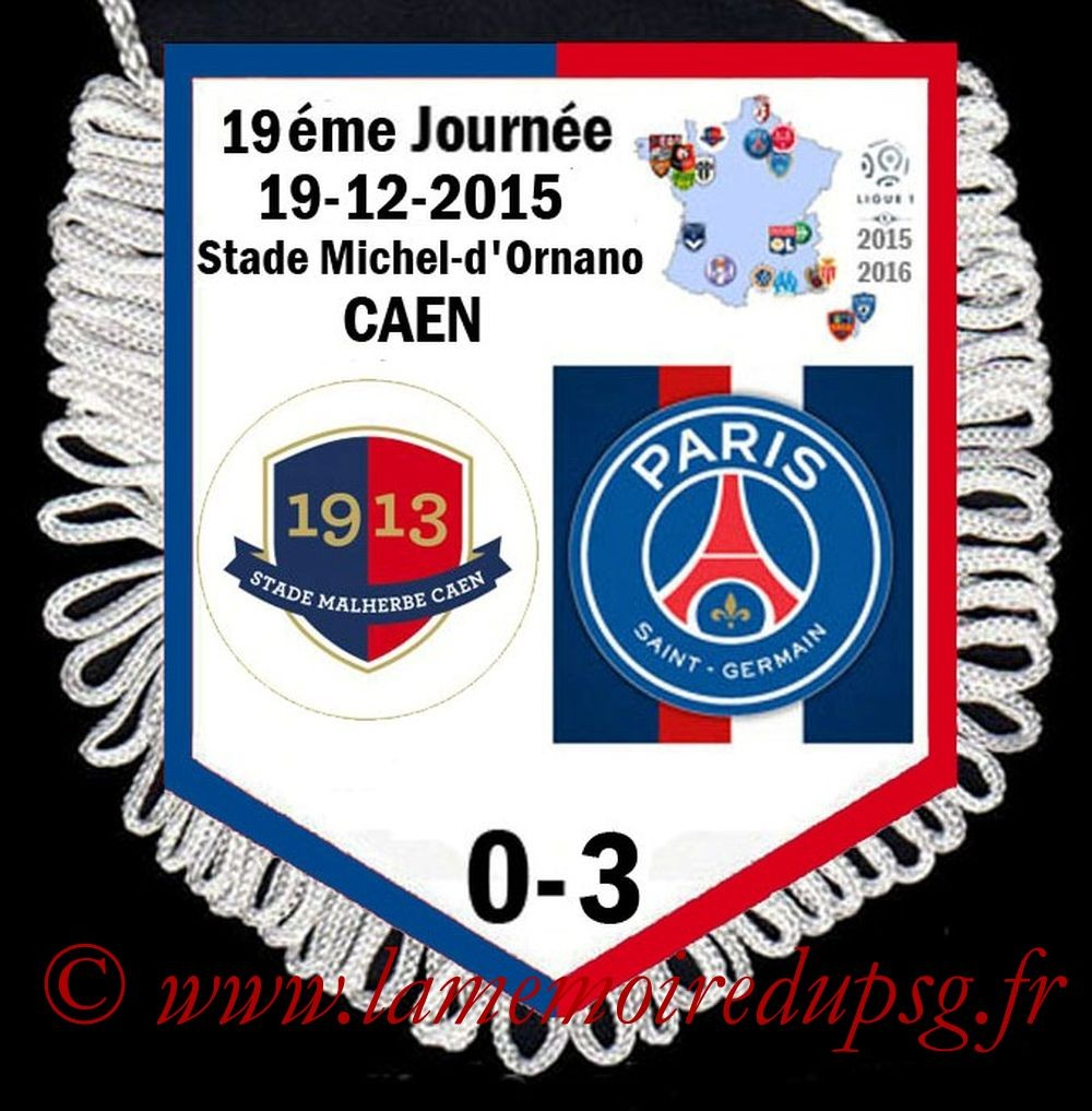 2015-12-19  Caen-PSG (19ème L1)