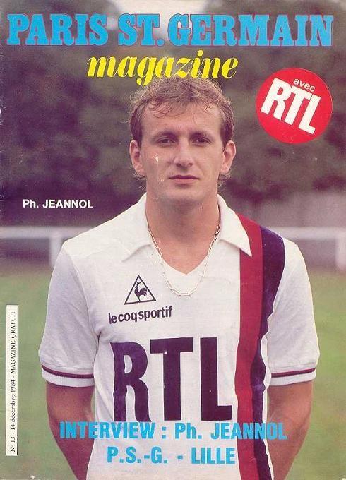 1984-12-14  PSG-Lille (20ème D1, Paris SG Magazine N°13)